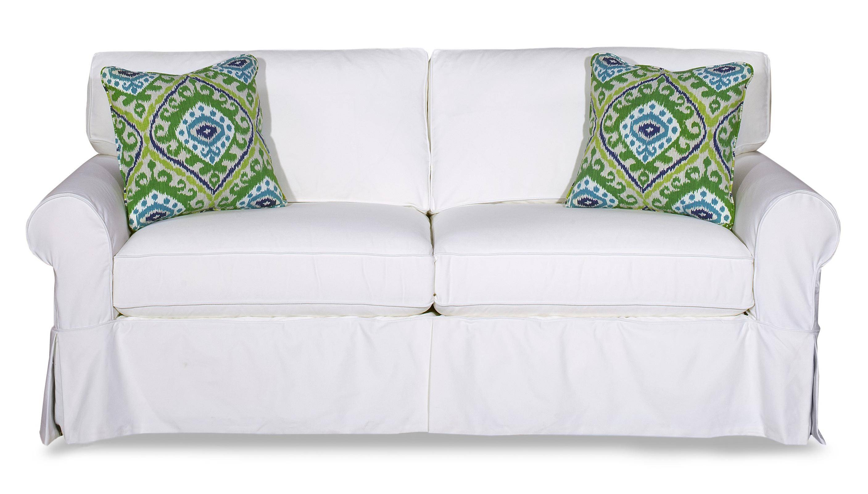 Decor: Charming Pottery Barn Slipcovers For Sofa And Chair with regard to Mitchell Gold Sofa Slipcovers (Image 4 of 26)