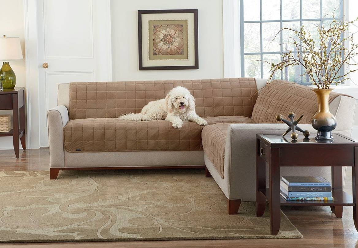 Decor: Couch Cover Walmart | Couch Covers Cheap | Futon Slipcover inside Chaise Sofa Covers (Image 3 of 30)