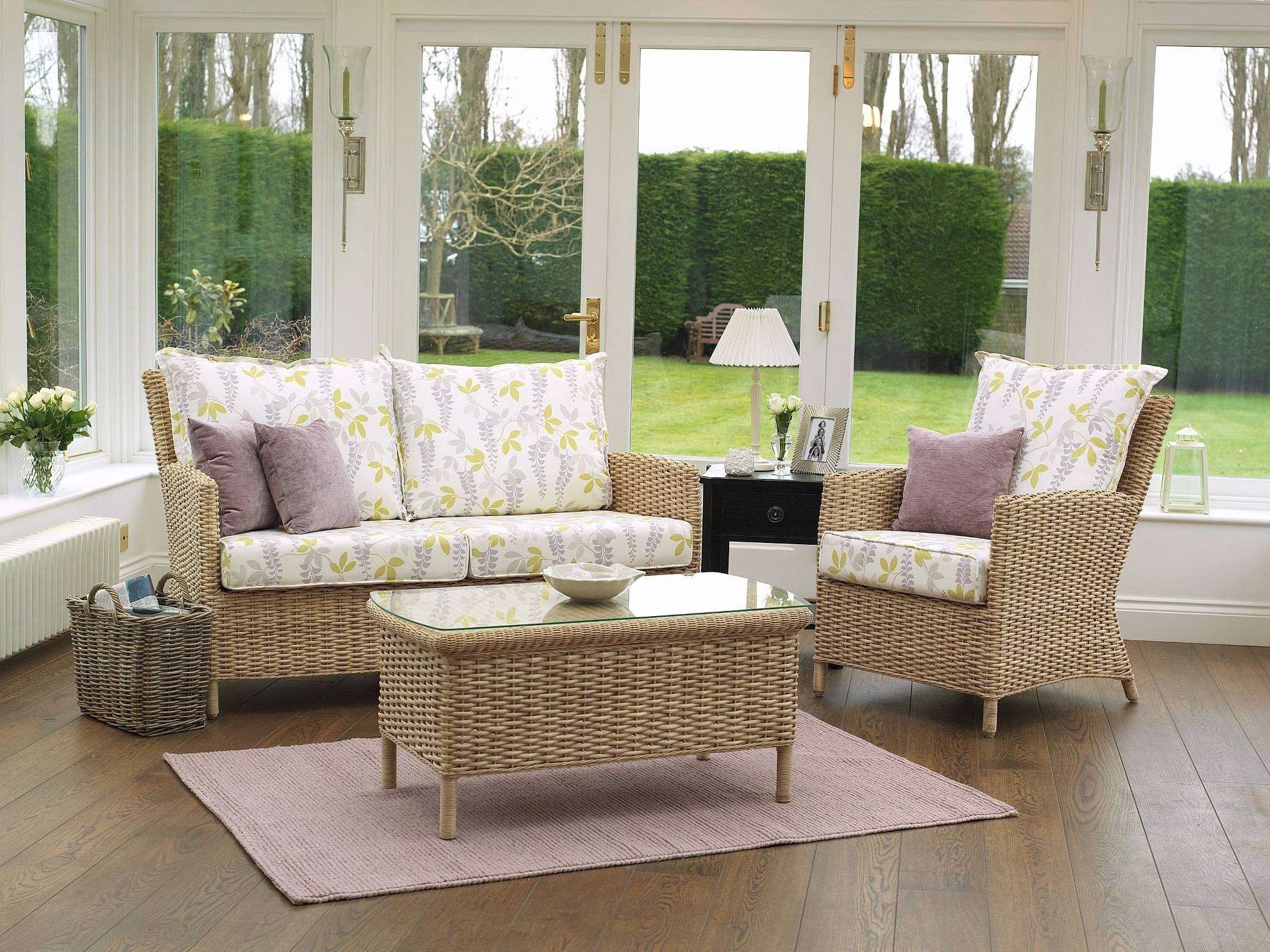 Decor Endearing Natural Wicker Ashley Furniture Replacement Regarding White  Cane Sofas Image 13 Of