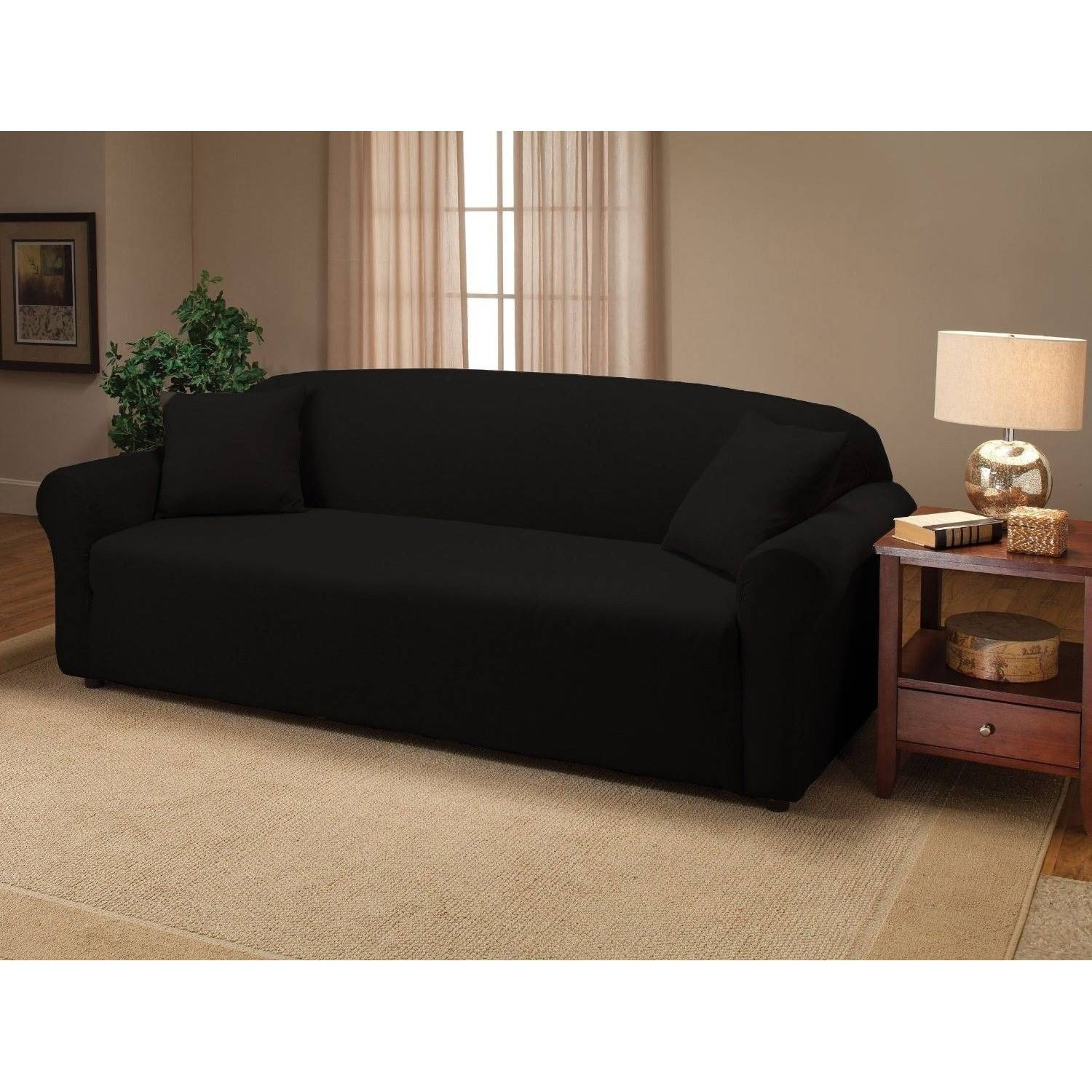 Decor: Futon Covers | Target Couch Slipcovers | Target Slipcovers with Black Slipcovers for Sofas (Image 6 of 30)