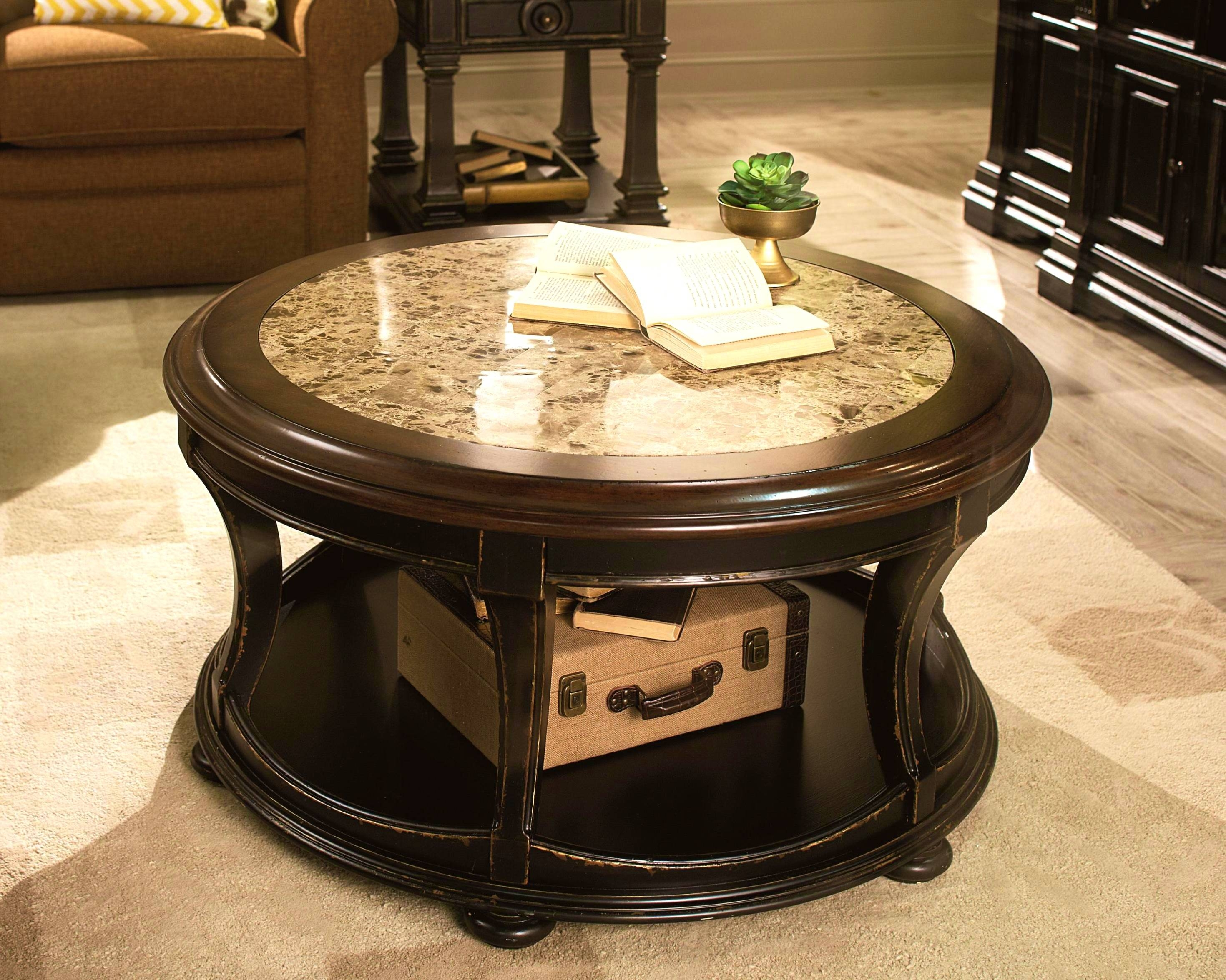 Decor Of Marble Round Coffee Table With Kitchen Foxy Round Coffee pertaining to Marble Round Coffee Tables (Image 17 of 30)