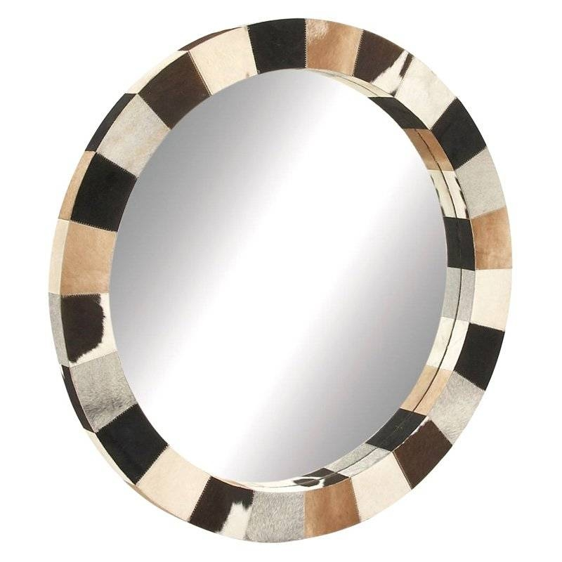 Décor Wonderland Angel Large Frameless Arched Wall Mirror - 39.5W inside Leather Wall Mirrors (Image 14 of 25)