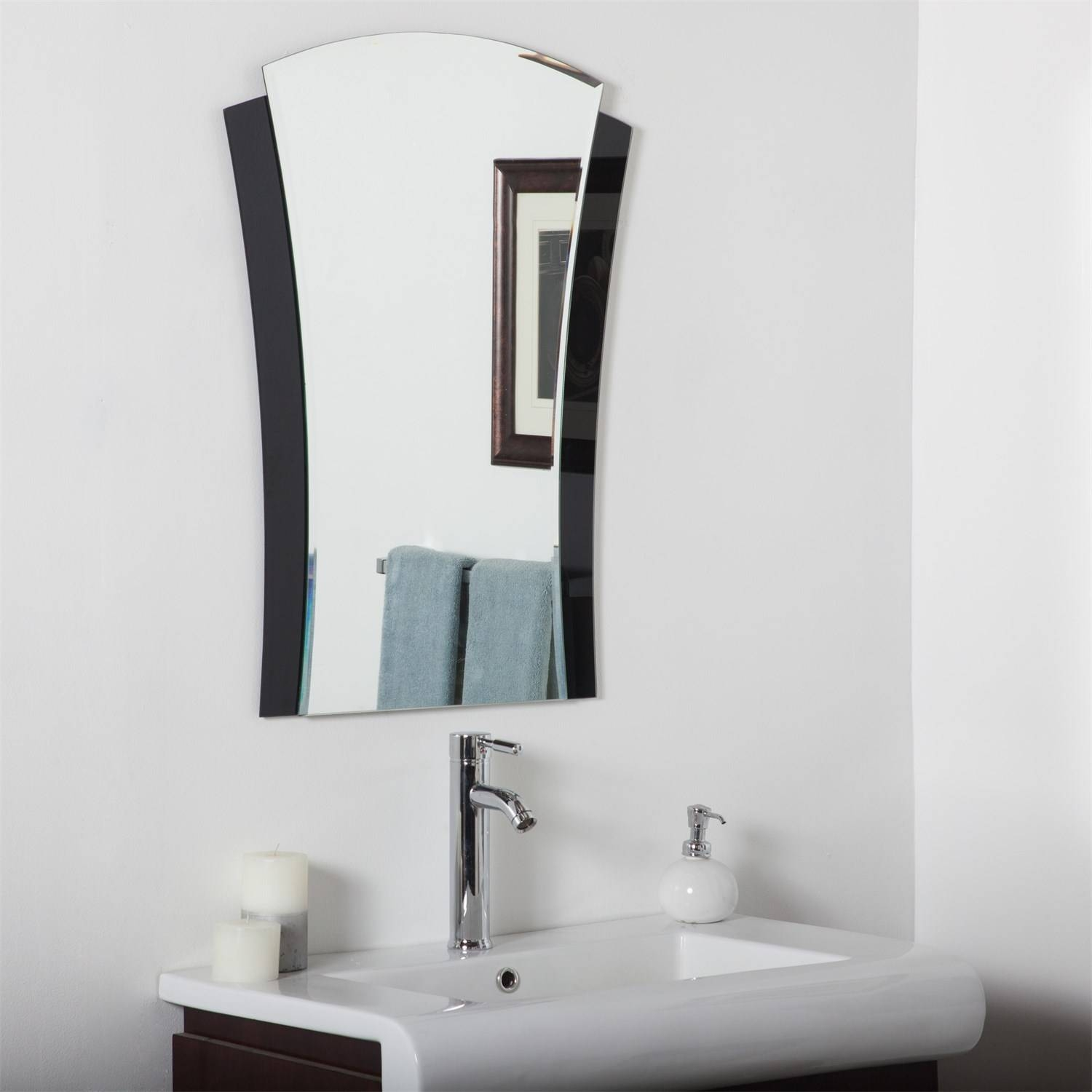 Decor Wonderland Ssm121500 1 Deco Bathroom Mirror – Homeclick Intended For Deco Bathroom Mirrors (View 21 of 25)