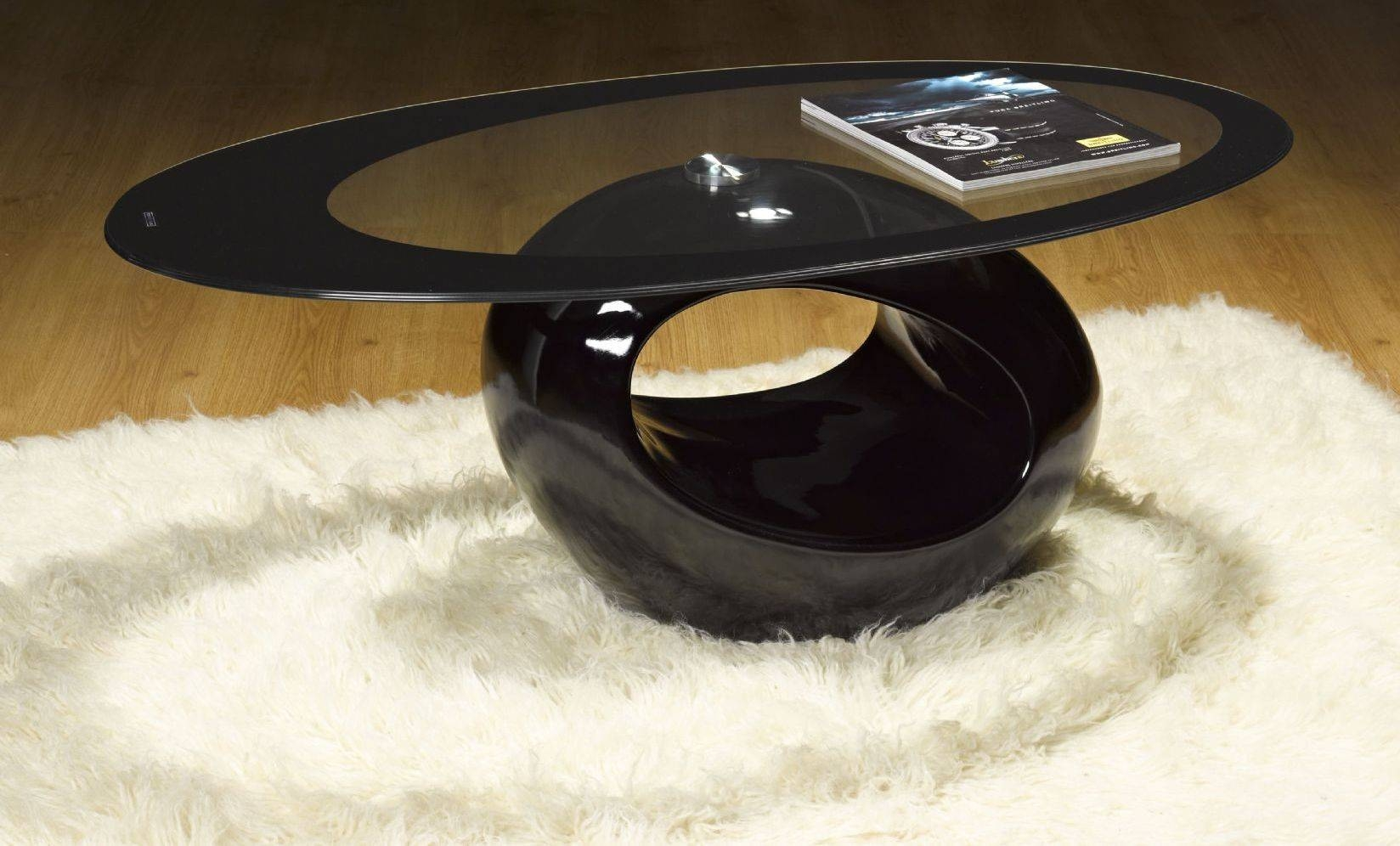 Decor Your Living Room In Style With Oval Coffee Table | Home inside Black Oval Coffee Table (Image 15 of 30)