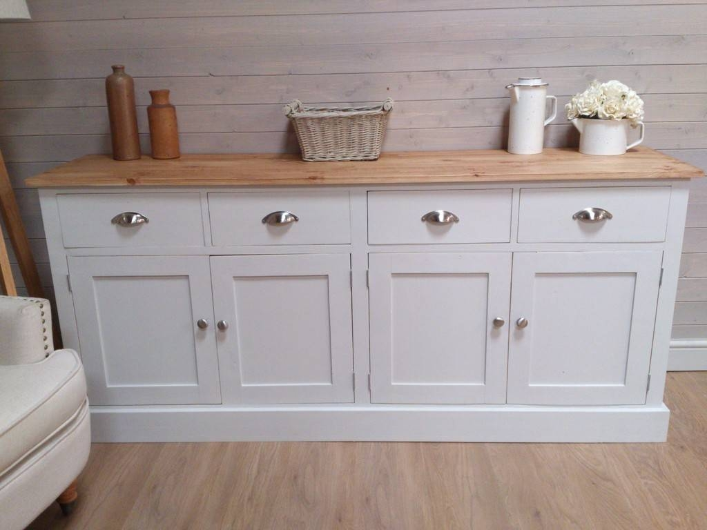 Decorate A White Buffet Table For Special Occasions pertaining to Large White Sideboards (Image 8 of 30)