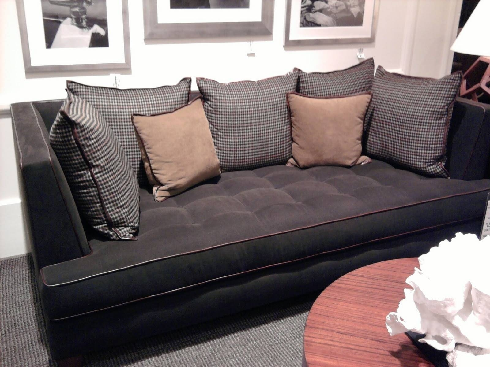 Decorating: Deep Seat Couches With Amazing Deep Sectional Sofa intended for Deep Cushion Sofa (Image 1 of 16)