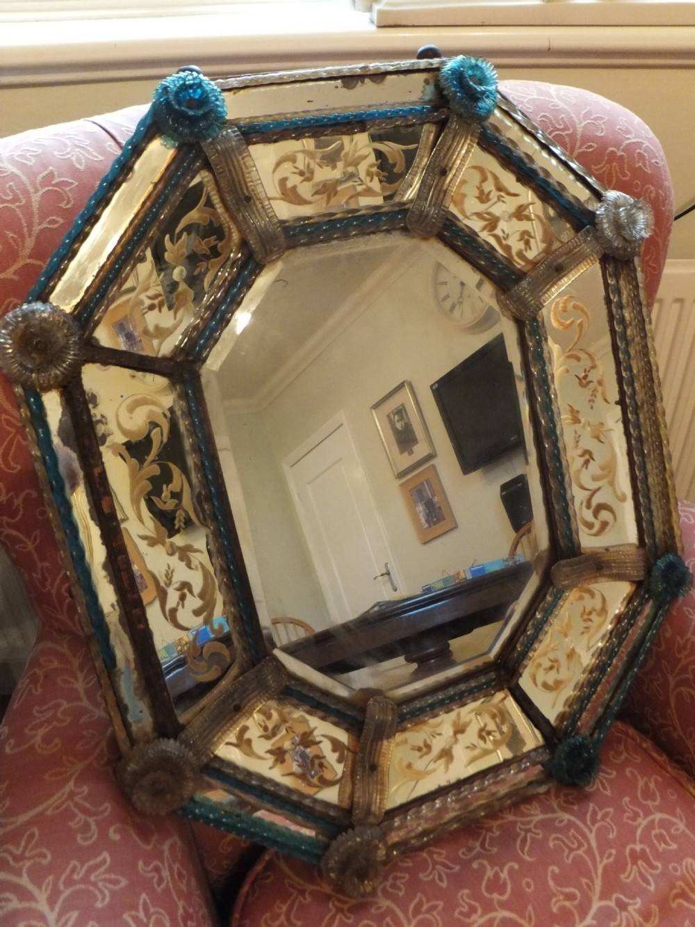Decorating Ideas: Excellent Picture Of Accessories For Home in Antique Venetian Glass Mirrors (Image 16 of 25)