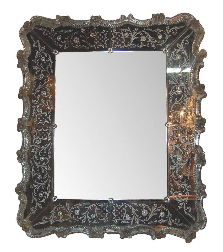 Decorating Ideas: Gorgeous Picture Of Accessories For Wall With Regard To Antique Venetian Glass Mirrors (View 14 of 25)