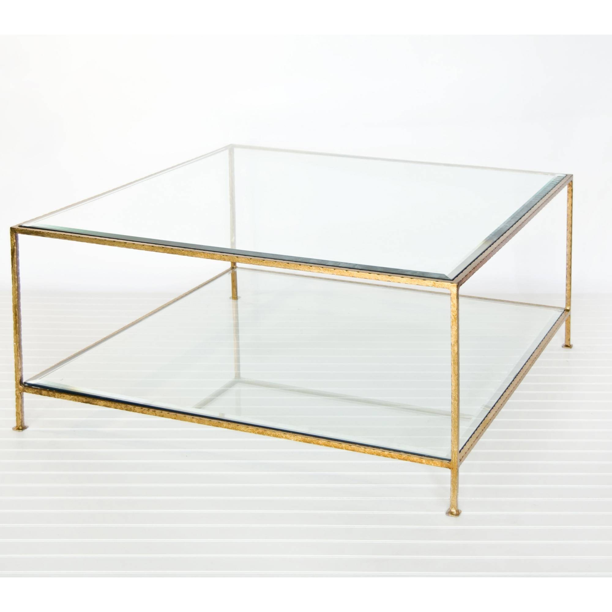 Decorating Ideas Of Brass Coffee Table – Glass Dining Room Tables in Glass Coffee Tables With Shelf (Image 12 of 30)