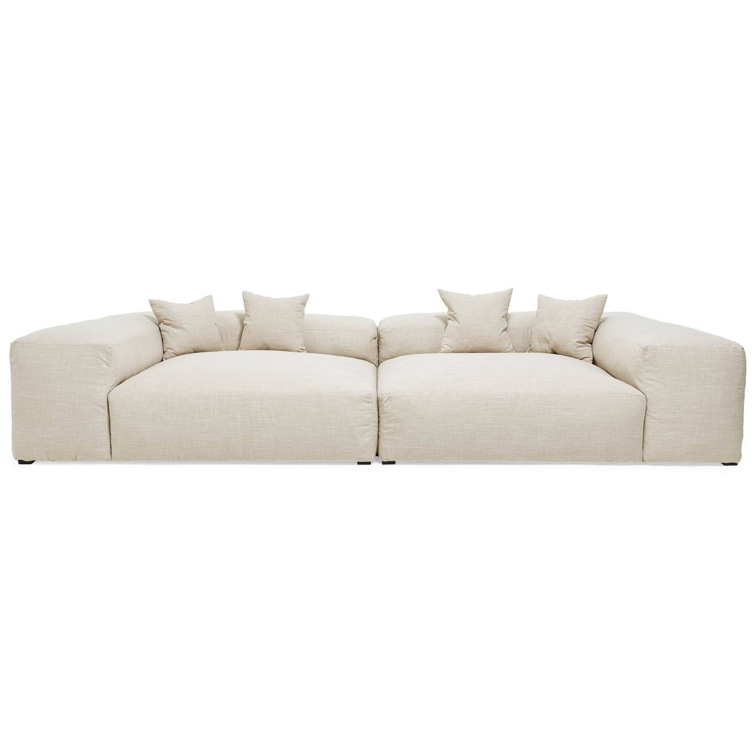 Decorating: Interesting Design Deep Sectional Sofa With Marvelous regarding Down Feather Sectional Sofa (Image 8 of 30)