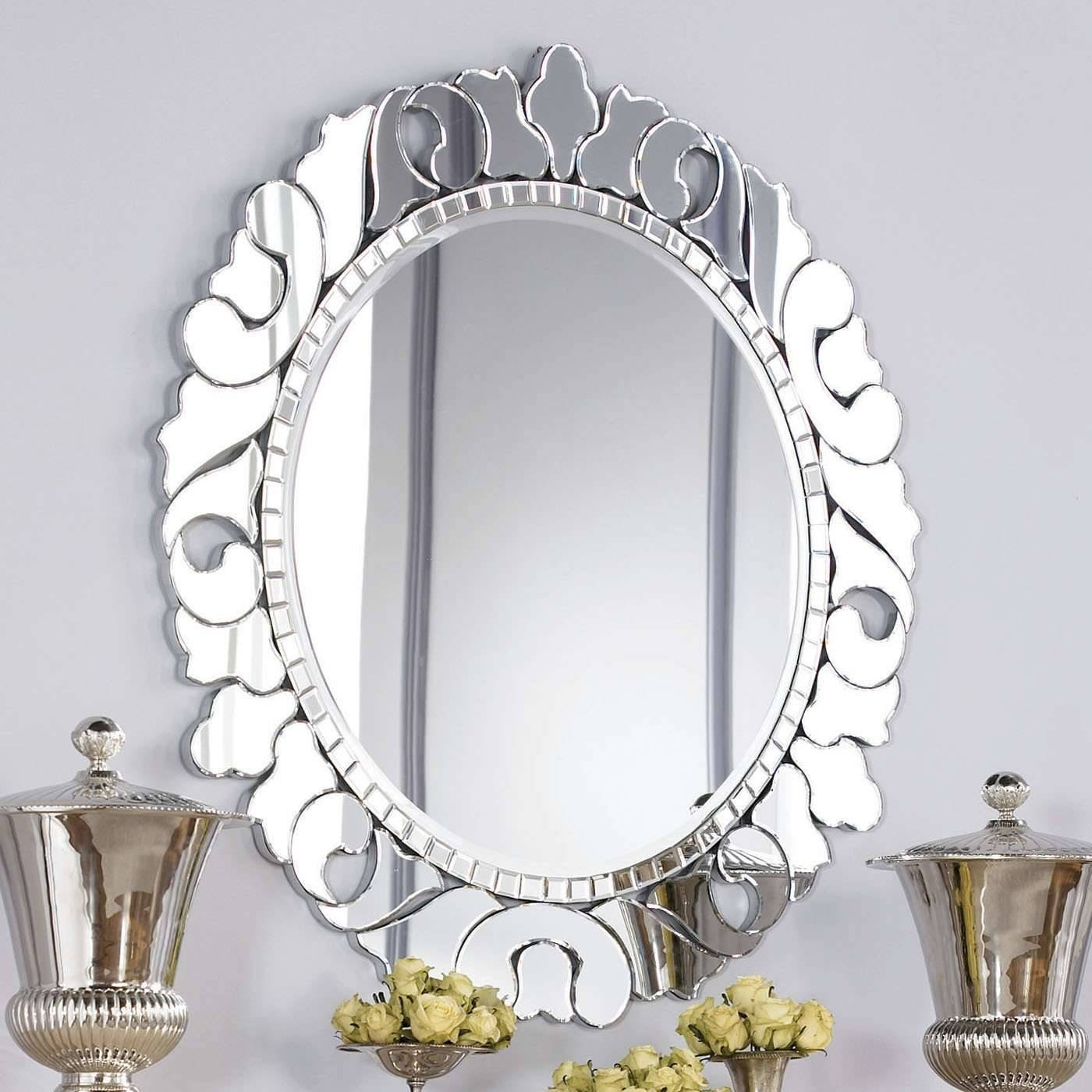 Decorating Mirror regarding Small Silver Mirrors (Image 6 of 25)
