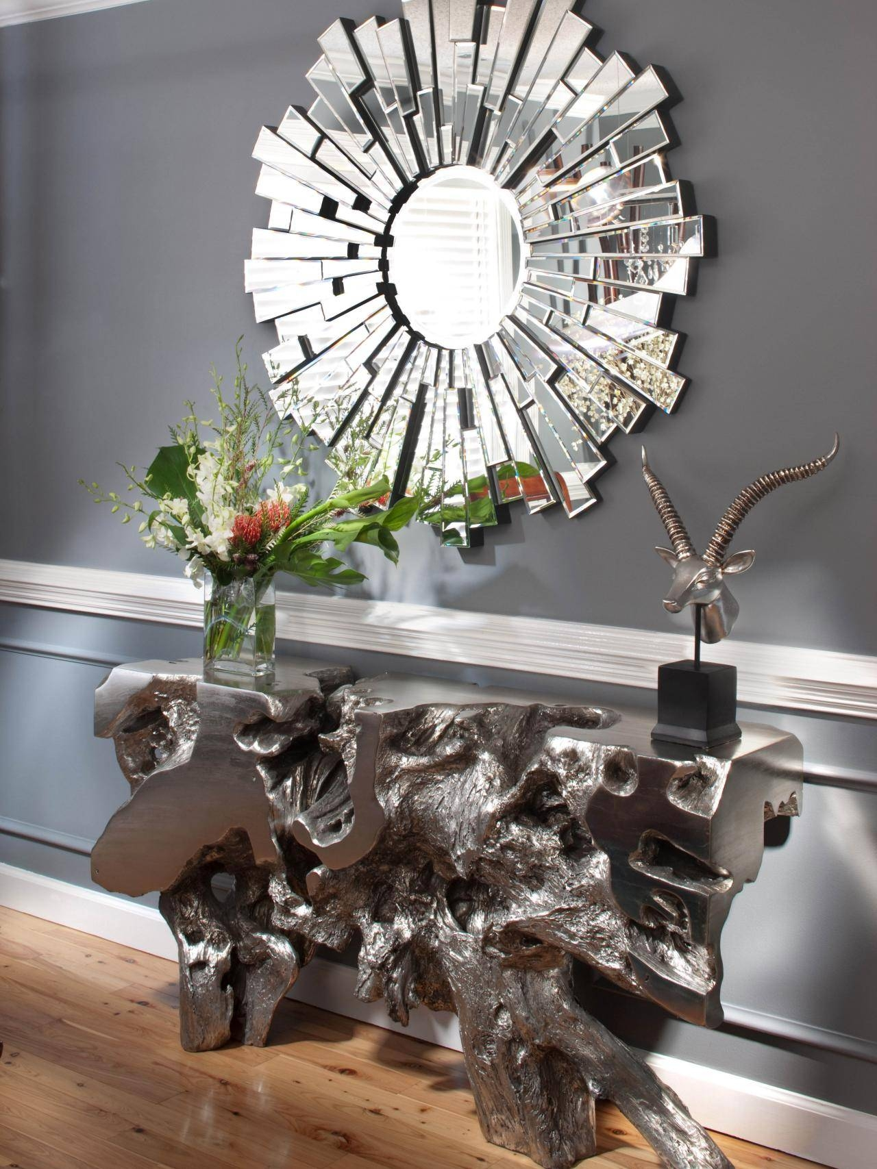 Decorating: Modern Home Accessories Design With Martha Stewart regarding Large Sunburst Mirrors (Image 6 of 25)