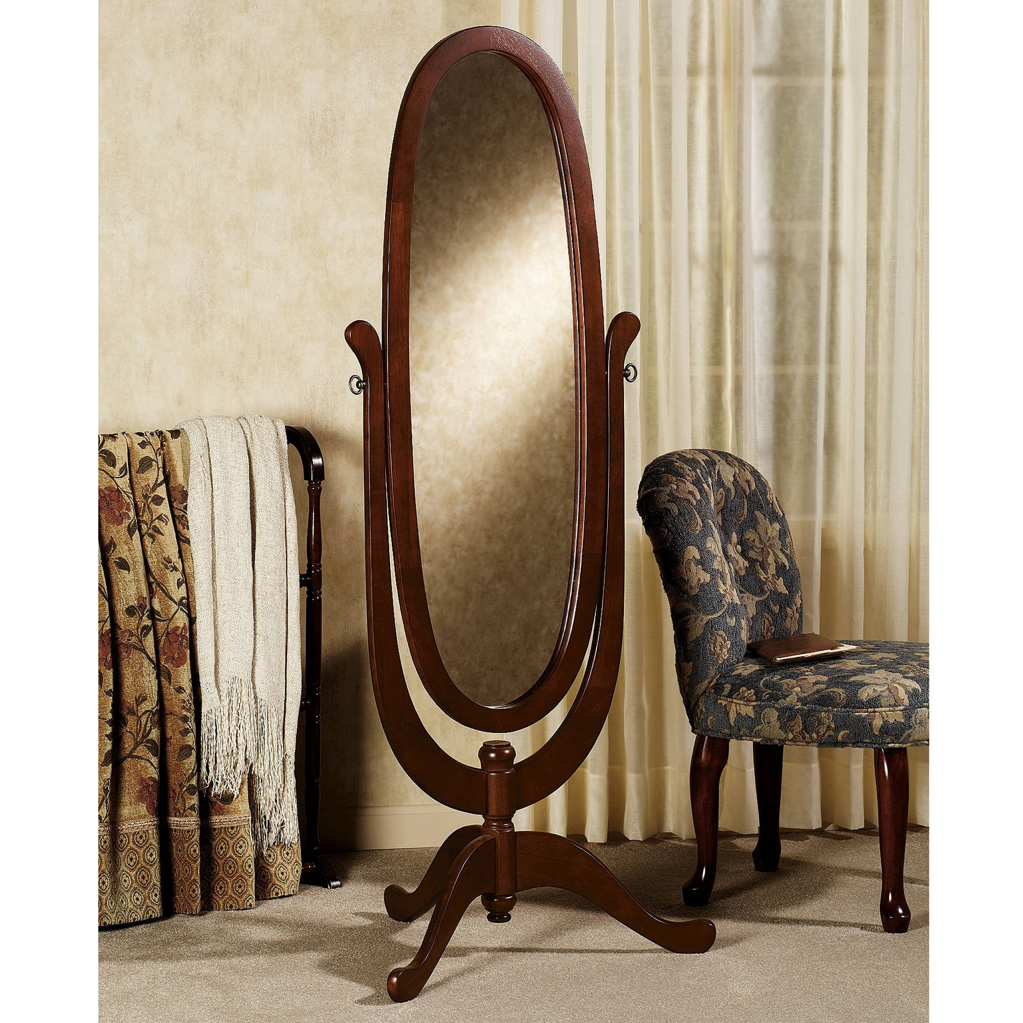 Decorating: Rectangle Black Cheval Mirror With Area Rug And Cream for Cheval Mirrors (Image 19 of 25)