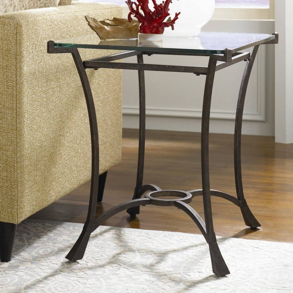 Decorating With A Metal Sofa Table | Elegant Furniture Design within Metal Glass Sofa Tables (Image 12 of 30)