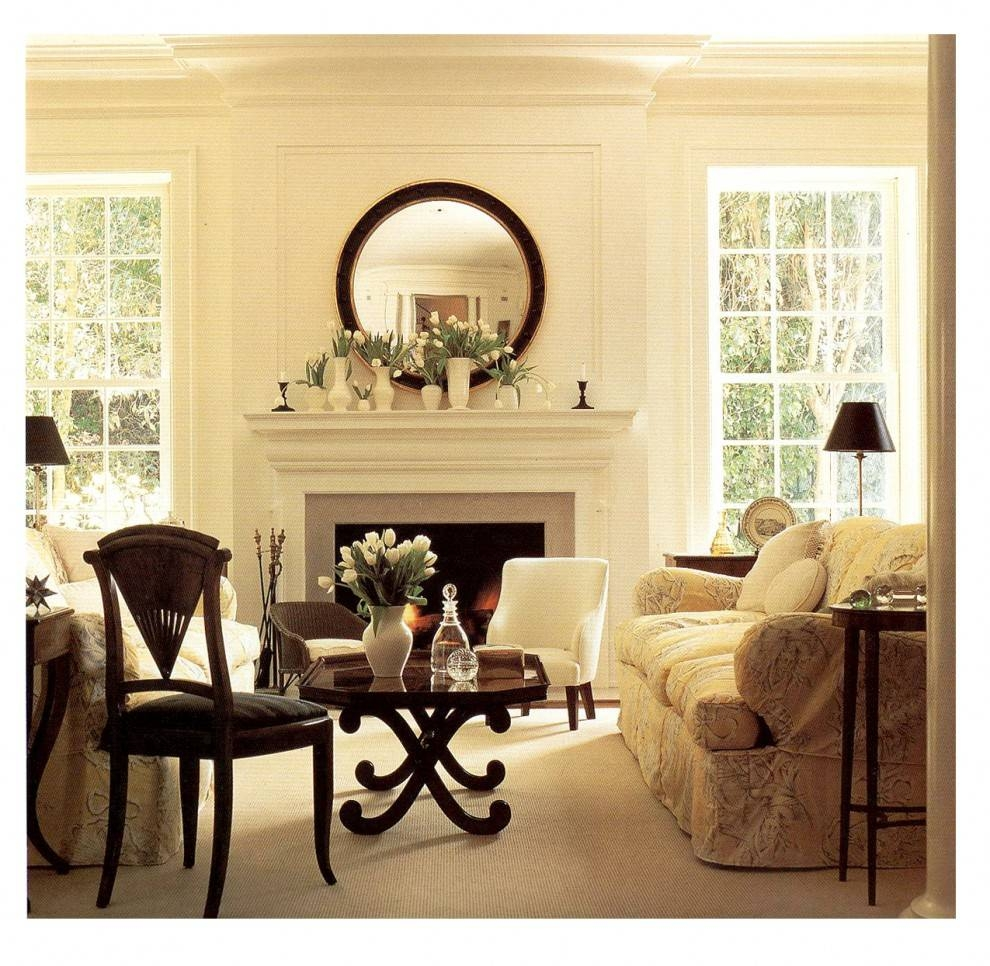 Decoration. Decorate Fireplace Using Wall Mirror Ideas throughout Mirrors For Mantle (Image 15 of 25)