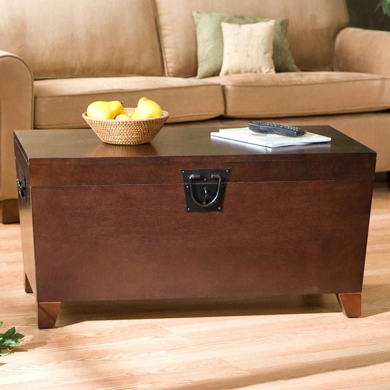 Decoration Ideas: Incredible Ideas For Home Interior Design With With Storage Trunk Coffee Tables (View 12 of 30)