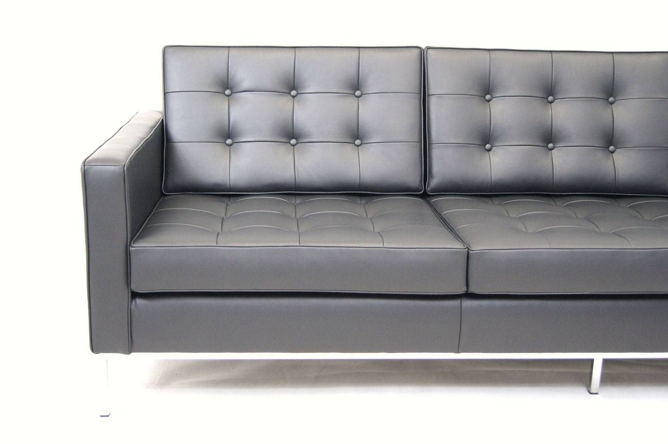 Decoration Knoll Florence Sofa With Florence Knoll Sofa Florence throughout Florence Leather Sofas (Image 6 of 30)