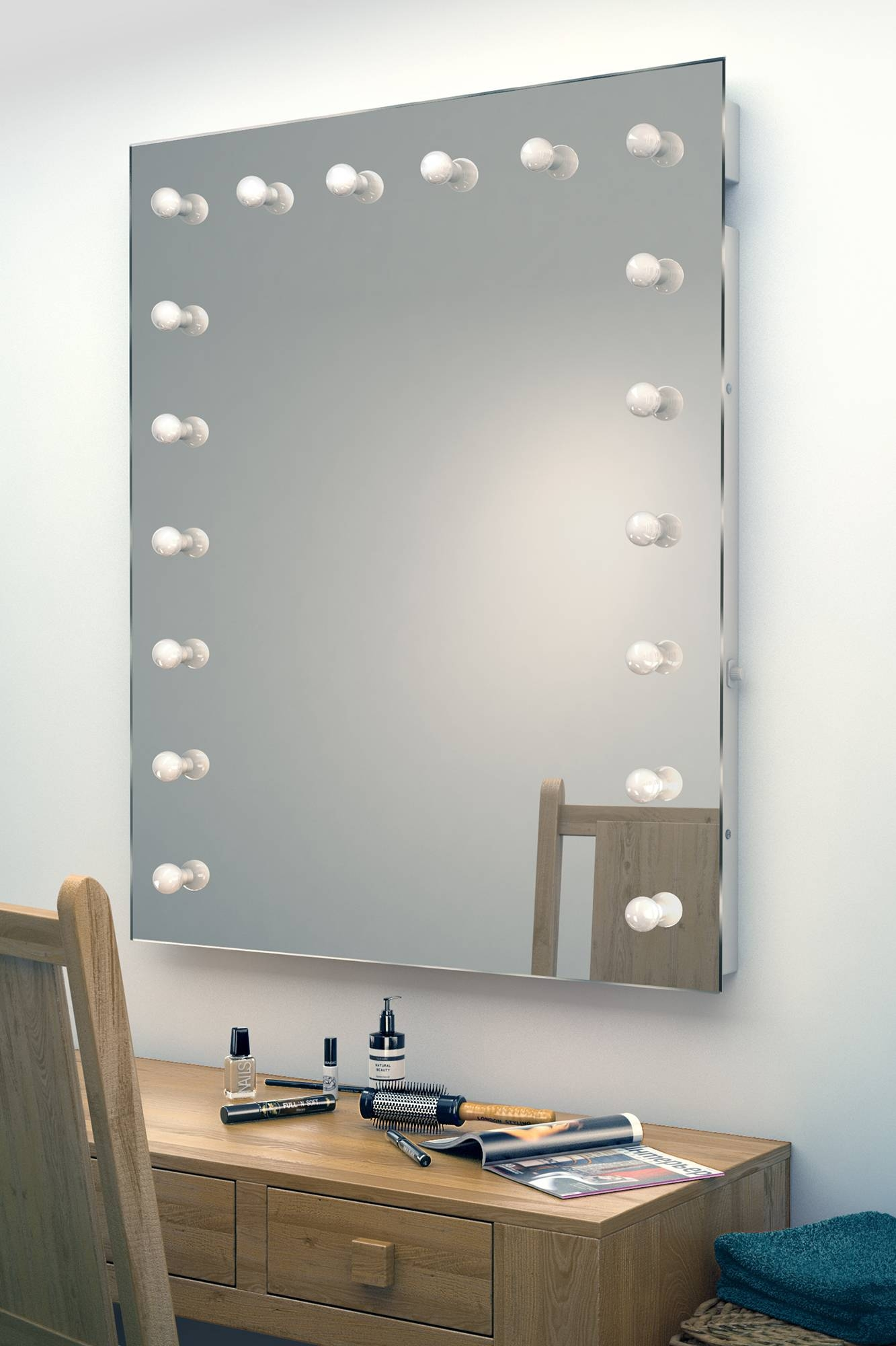 25 best collection of illuminated dressing table mirrors