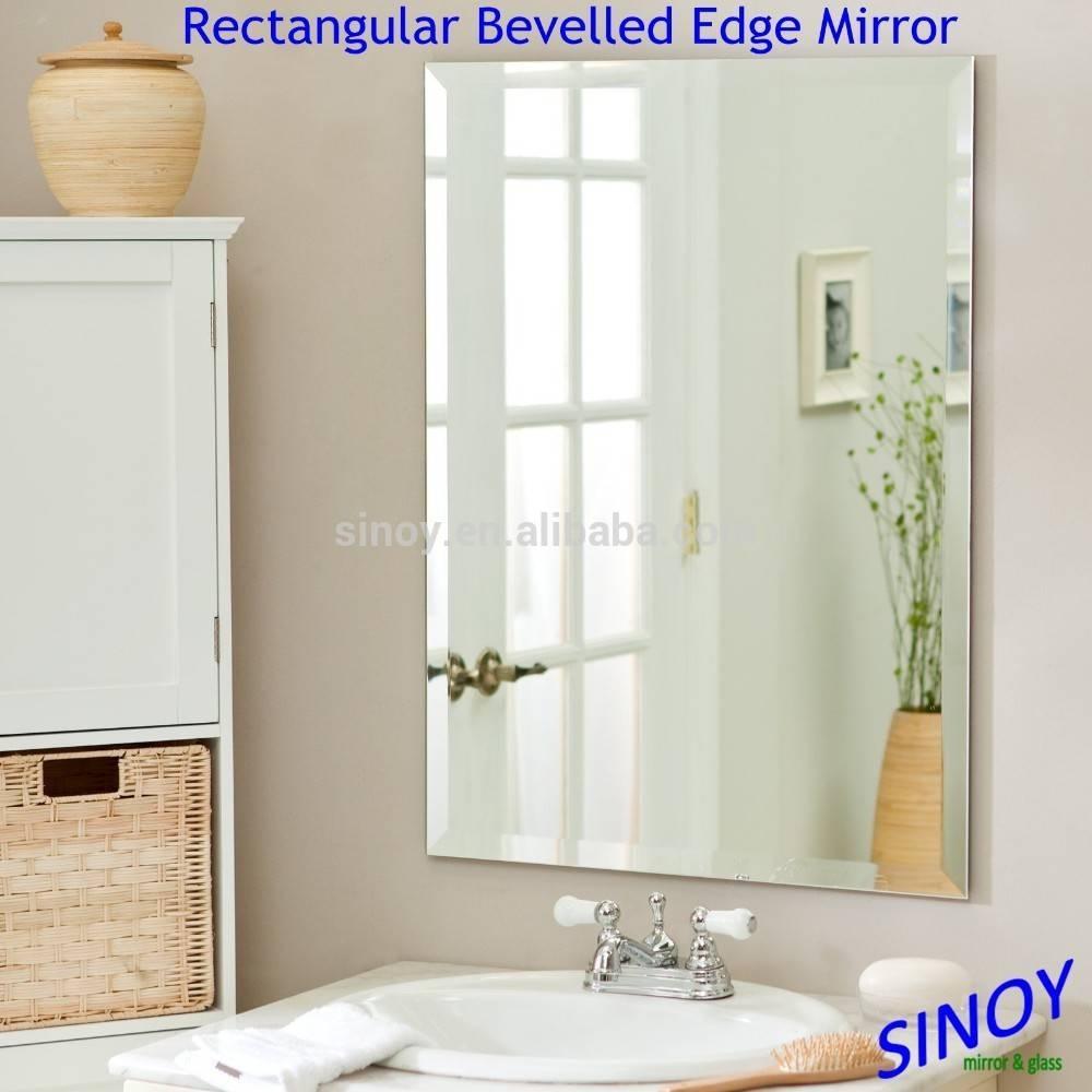 Decorative Bevelled Edge Frameless Mirror Glass In Irregular regarding Bevelled Mirrors Glass (Image 13 of 25)