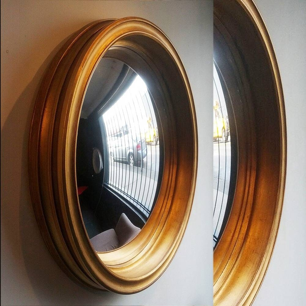 Decorative Convex Mirrors Black | Vanity And Nightstand Decoration with regard to Decorative Convex Mirrors (Image 8 of 25)
