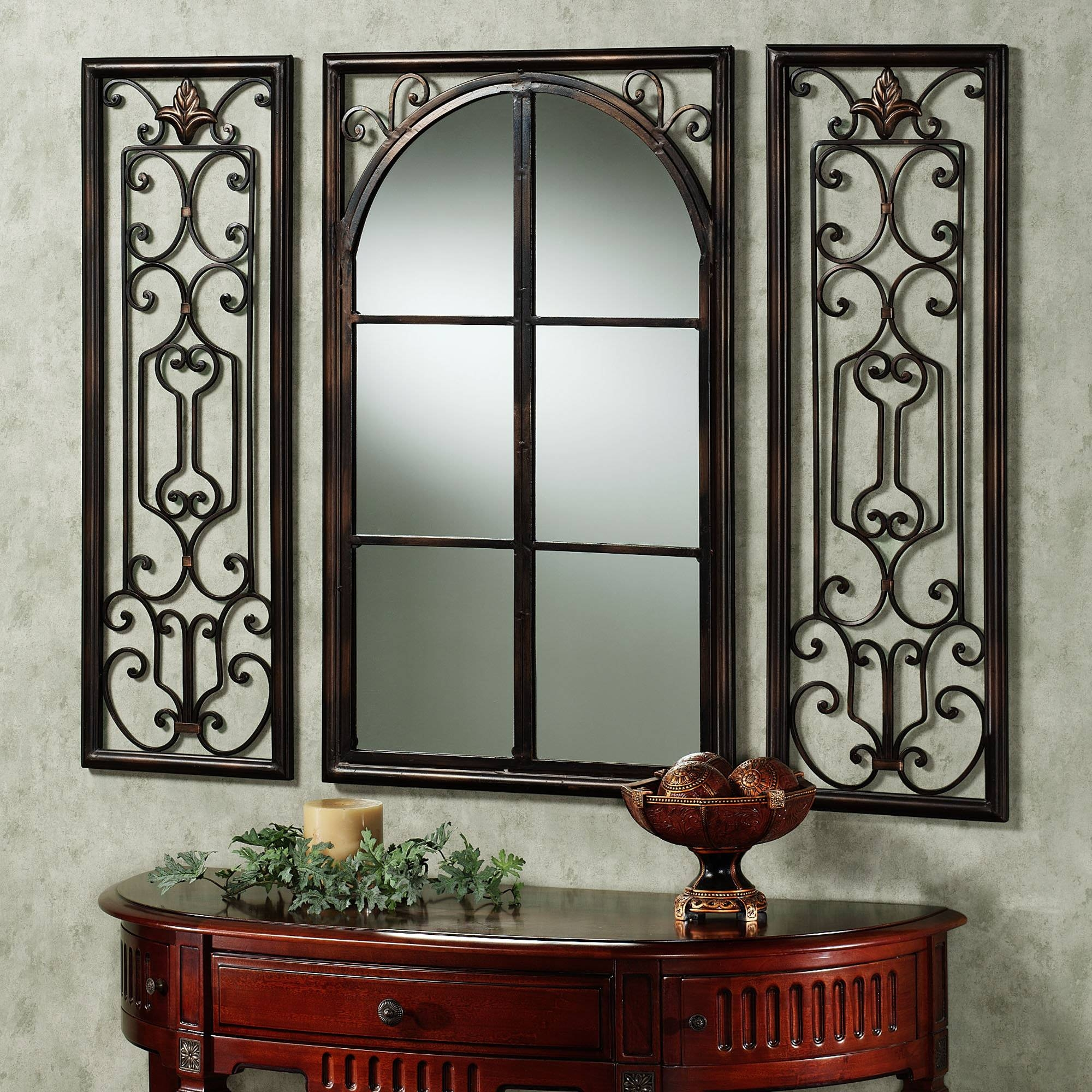 Decorative Frames For Mirrors 65 Stunning Decor With Hand Forged with Bronze Wall Mirrors (Image 7 of 25)