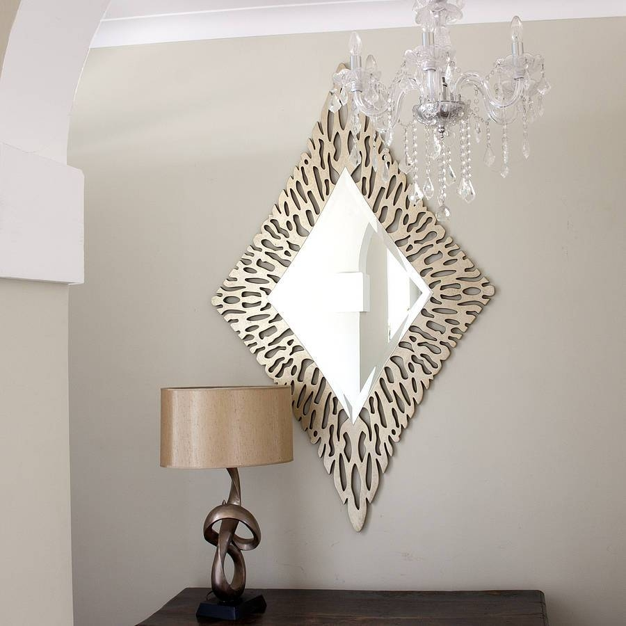 Decorative Gold Mirrors for Ornate Gold Mirrors (Image 5 of 25)