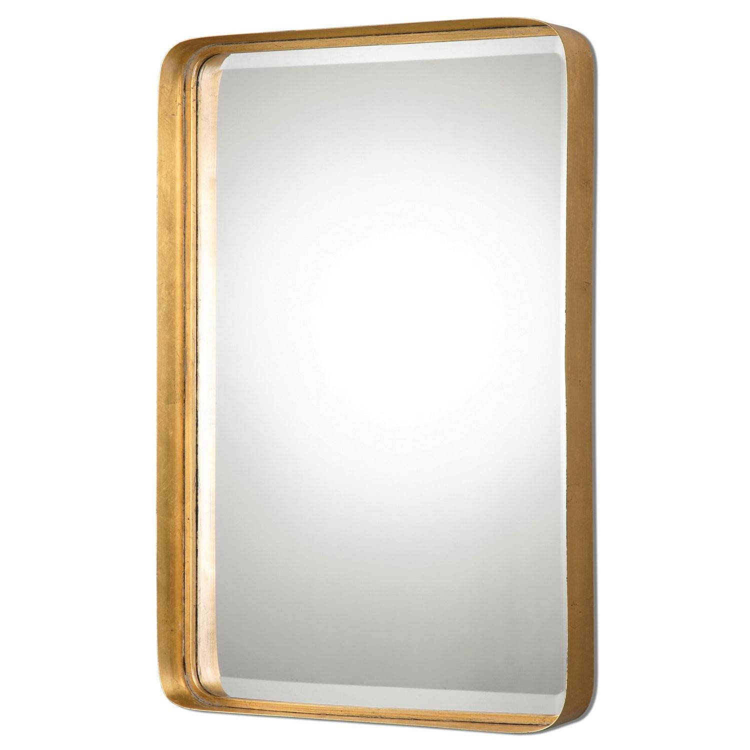 Decorative Gold Mirrors. Gold Decorative Framed Bevelled Wall pertaining to Ornate Gold Mirrors (Image 7 of 25)