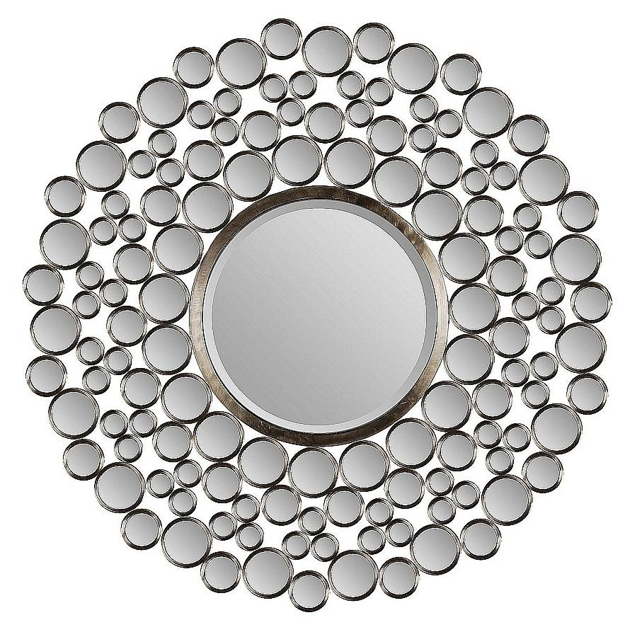 Decorative Round Wall Mirrors – Harpsounds.co intended for Contemporary Round Mirrors (Image 10 of 25)
