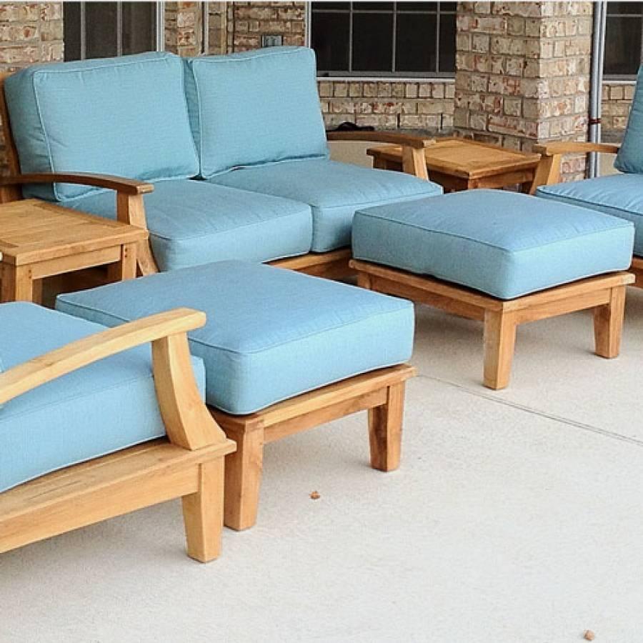 Deep Seating Sofa Cushion - Sunbrella Cushions with regard to Deep Cushion Sofa (Image 6 of 16)