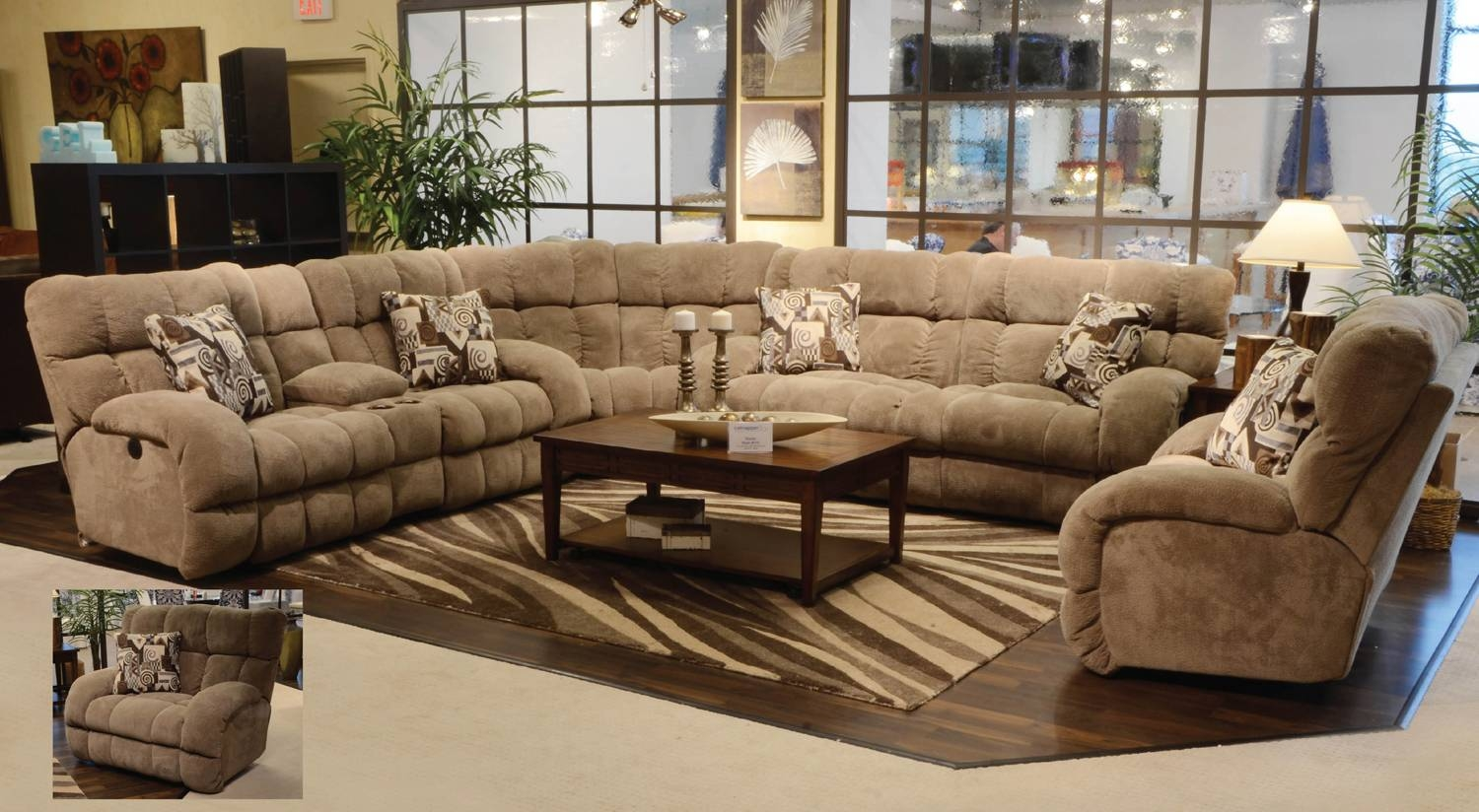 Deep Sectional Sofa. Modern Sectional Sofa Island Of Tino Mariani for Extra Wide Sectional Sofas (Image 14 of 30)