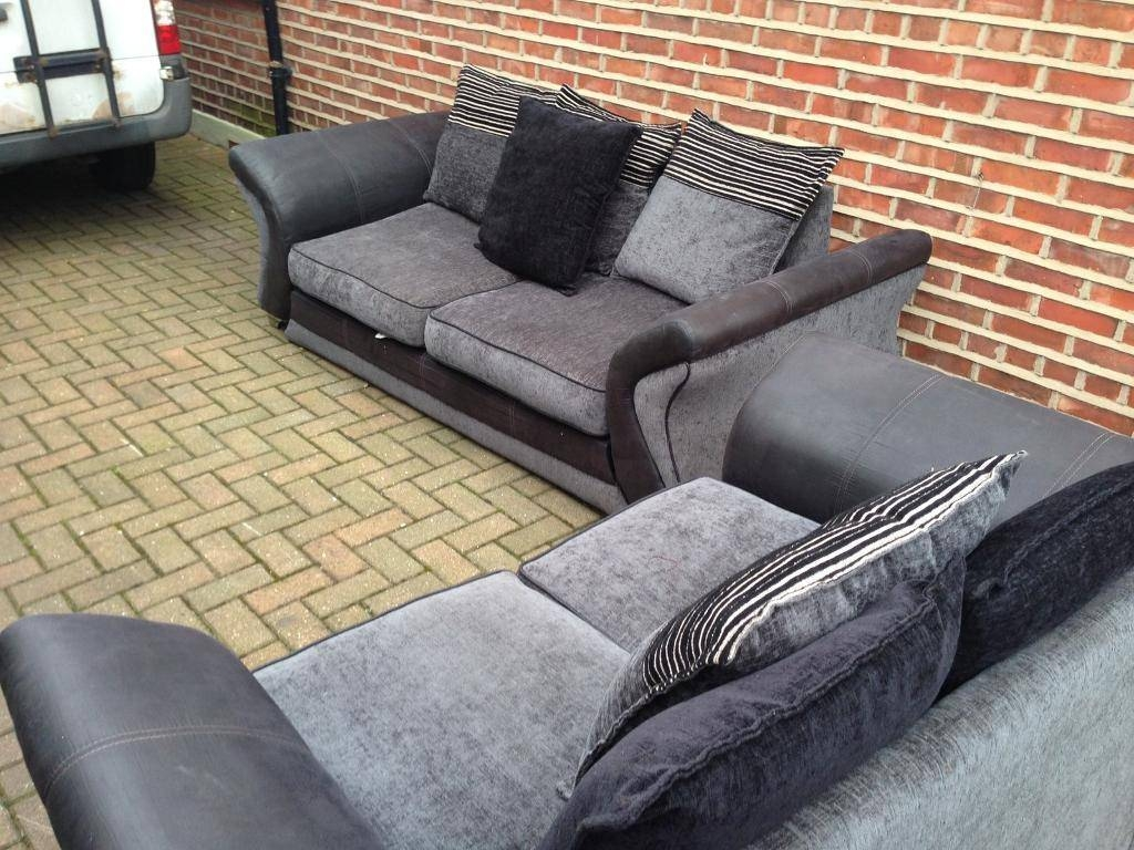 Del Avail Dfs Sofas | In Manchester City Centre, Manchester | Gumtree with Manchester Sofas (Image 8 of 30)
