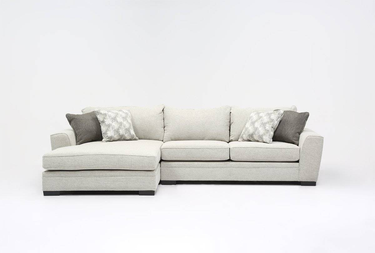 Delano 2 Piece Sectional W/laf Chaise – Living Spaces With Regard To Sectional Sofa With 2 Chaises (View 16 of 30)