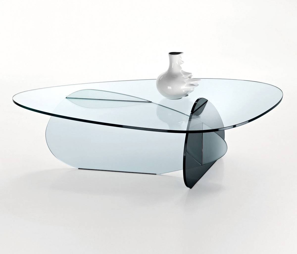 Delighful Round Glass Coffee Tables Table For Sale Inside Design regarding Round Chrome Coffee Tables (Image 9 of 30)