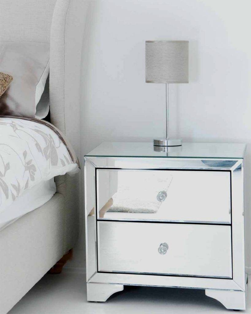 Delue Mirror Modern Bedside Table Concept Design Ideas With in Small Table Mirrors (Image 5 of 25)