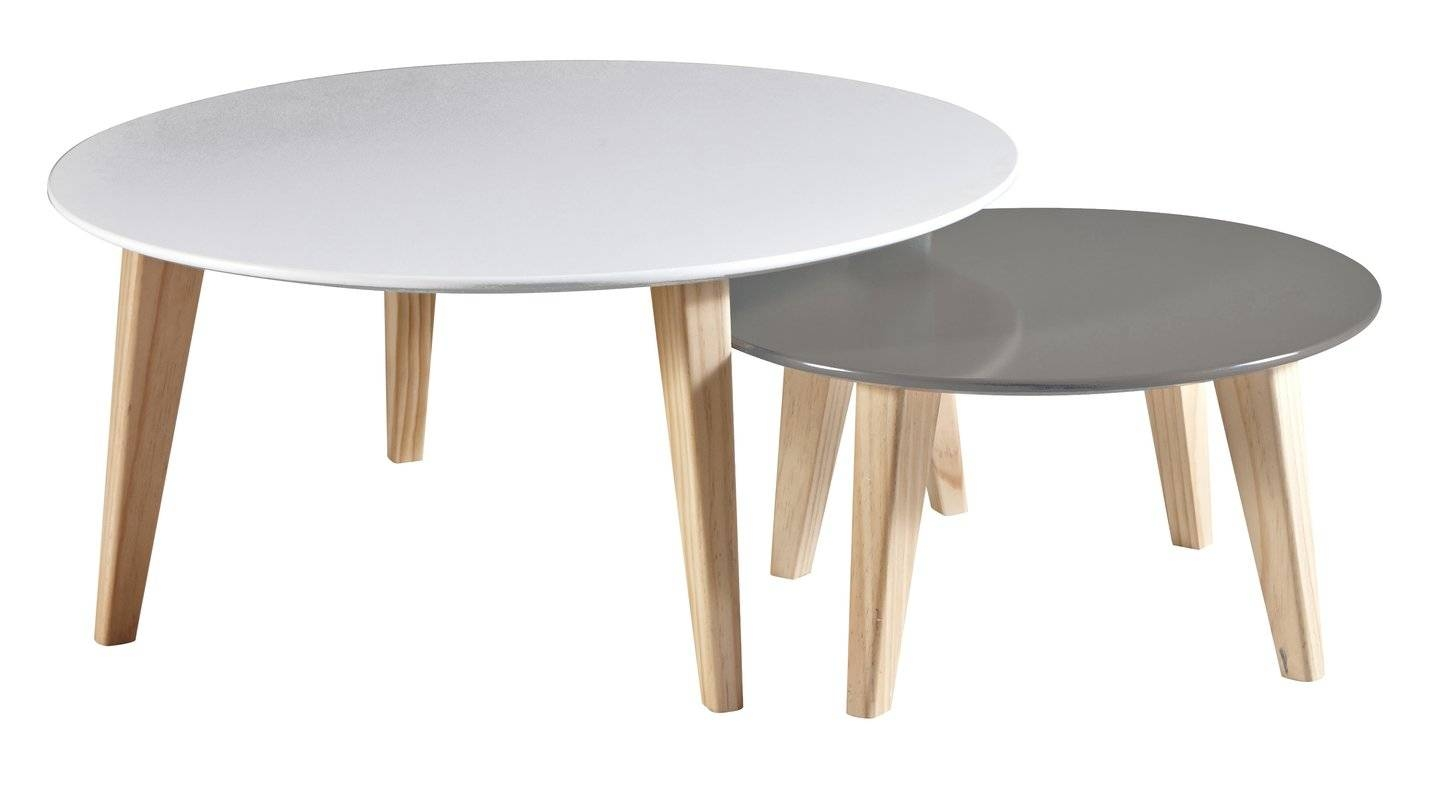 Demeyere Round 2-Piece Coffee Table Set & Reviews | Wayfair.co.uk throughout 2 Piece Coffee Table Sets (Image 16 of 30)