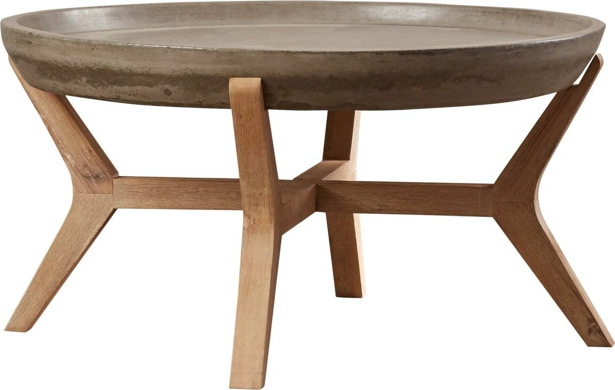 Dennison Coffee Table & Reviews | Joss & Main throughout Joss And Main Coffee Tables (Image 11 of 30)