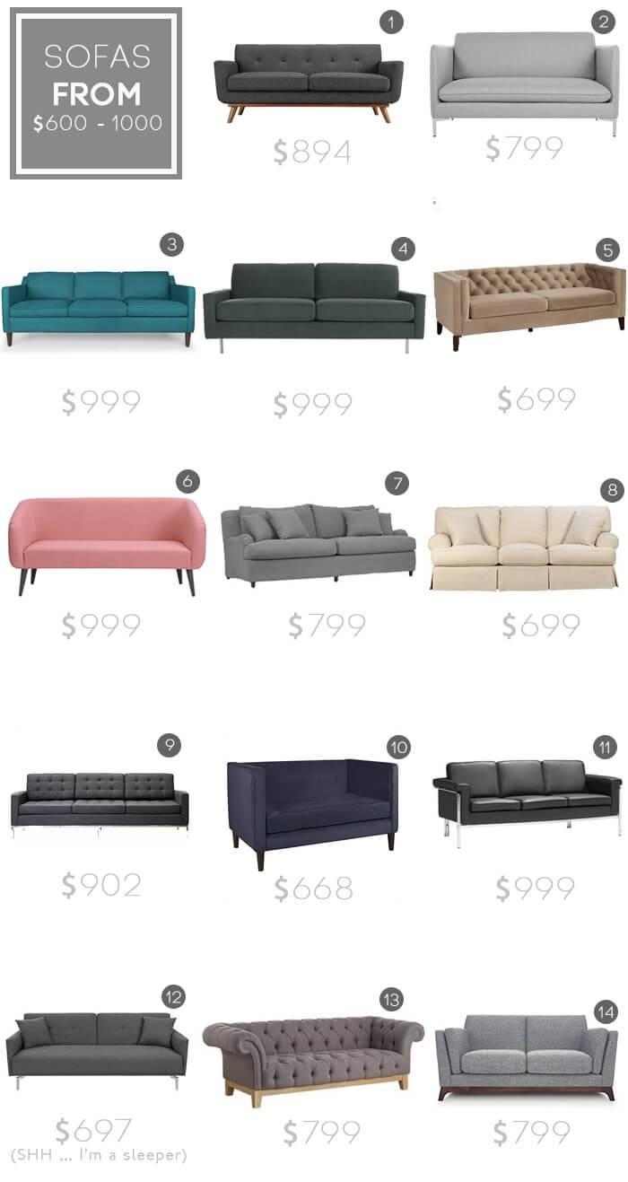 Design Mistake #1: The Generic Sofa - Emily Henderson intended for Mid Range Sofas (Image 7 of 30)