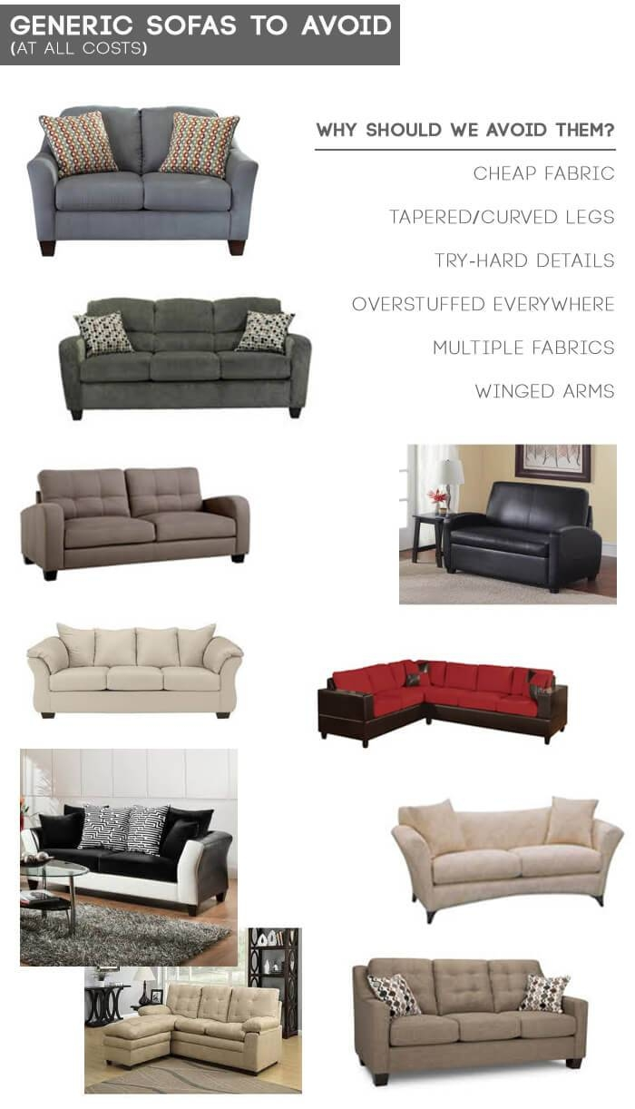 Design Mistake #1: The Generic Sofa - Emily Henderson with regard to Mid Range Sofas (Image 8 of 30)