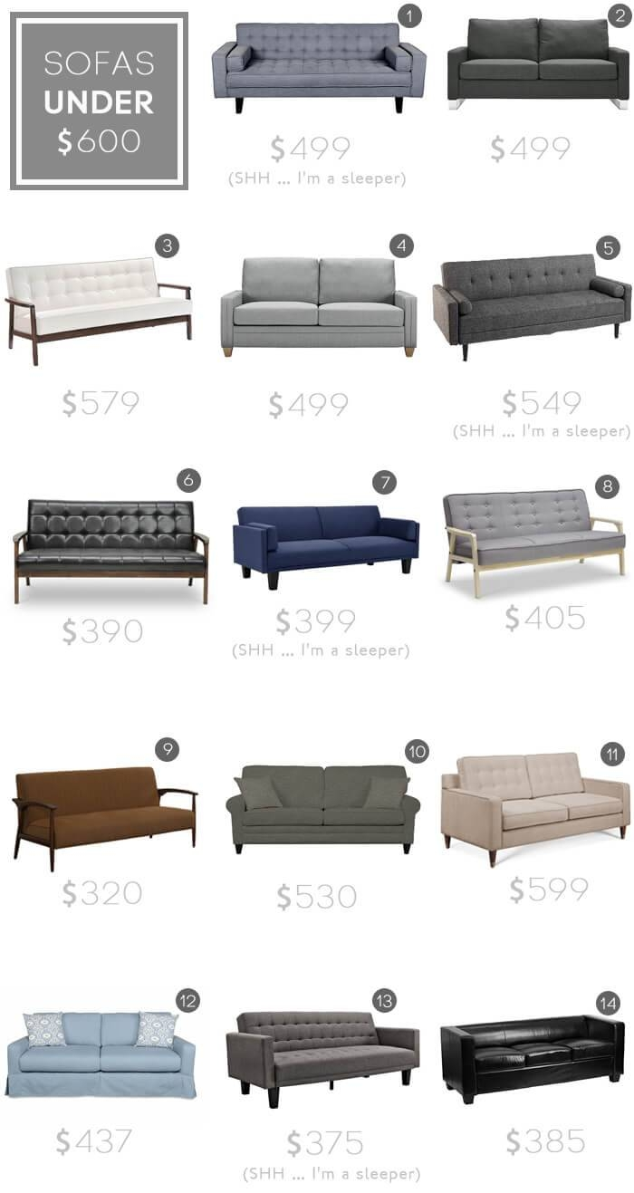 Design Mistake #1: The Generic Sofa - Emily Henderson with regard to Sectional Sofas Under 600 (Image 7 of 30)