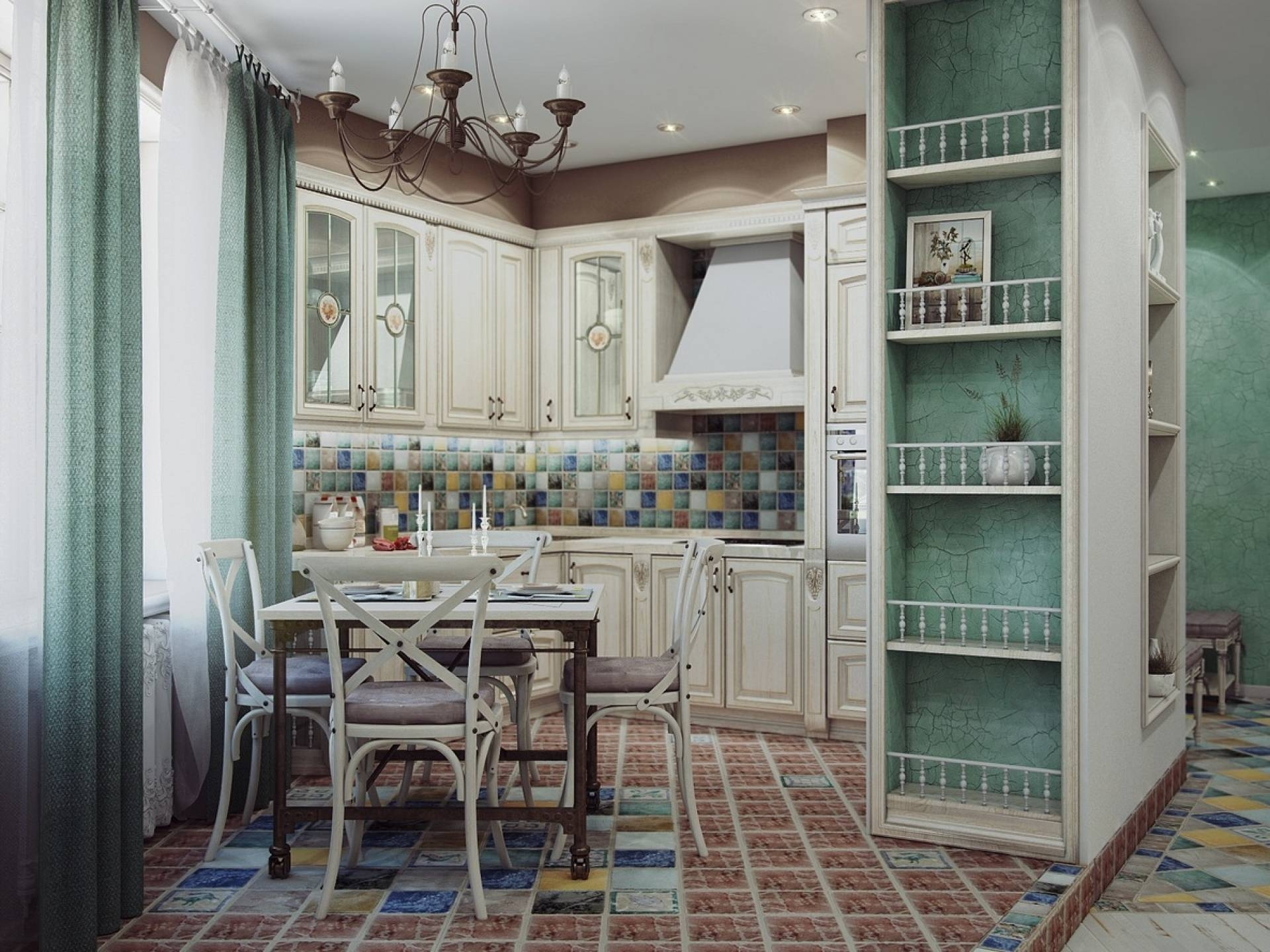 Design#500400: Odd Shaped Kitchens – Houzz (+84 More Designs throughout Odd Shaped Mirrors (Image 6 of 25)