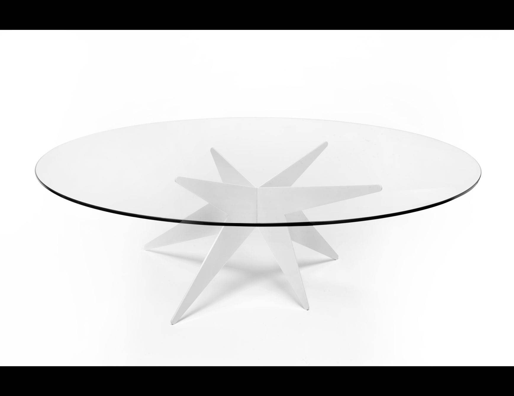 Designer Italian Luxury High End Coffee Tables: Nella Vetrina with Low Glass Coffee Tables (Image 6 of 30)