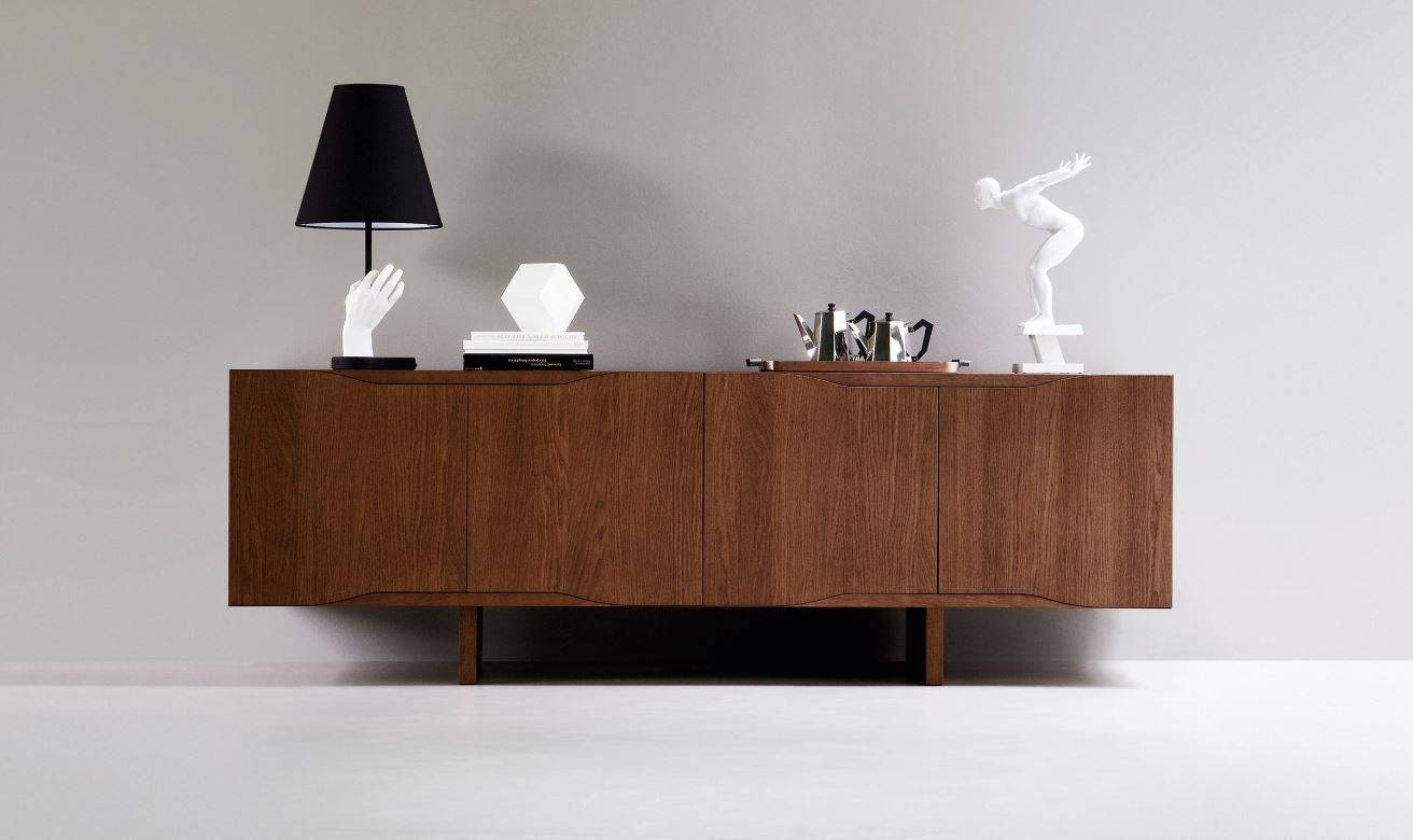 Designer Italian Sideboards, Luxury Credenza | Momentoitalia within Contemporary Wood Sideboards (Image 14 of 30)