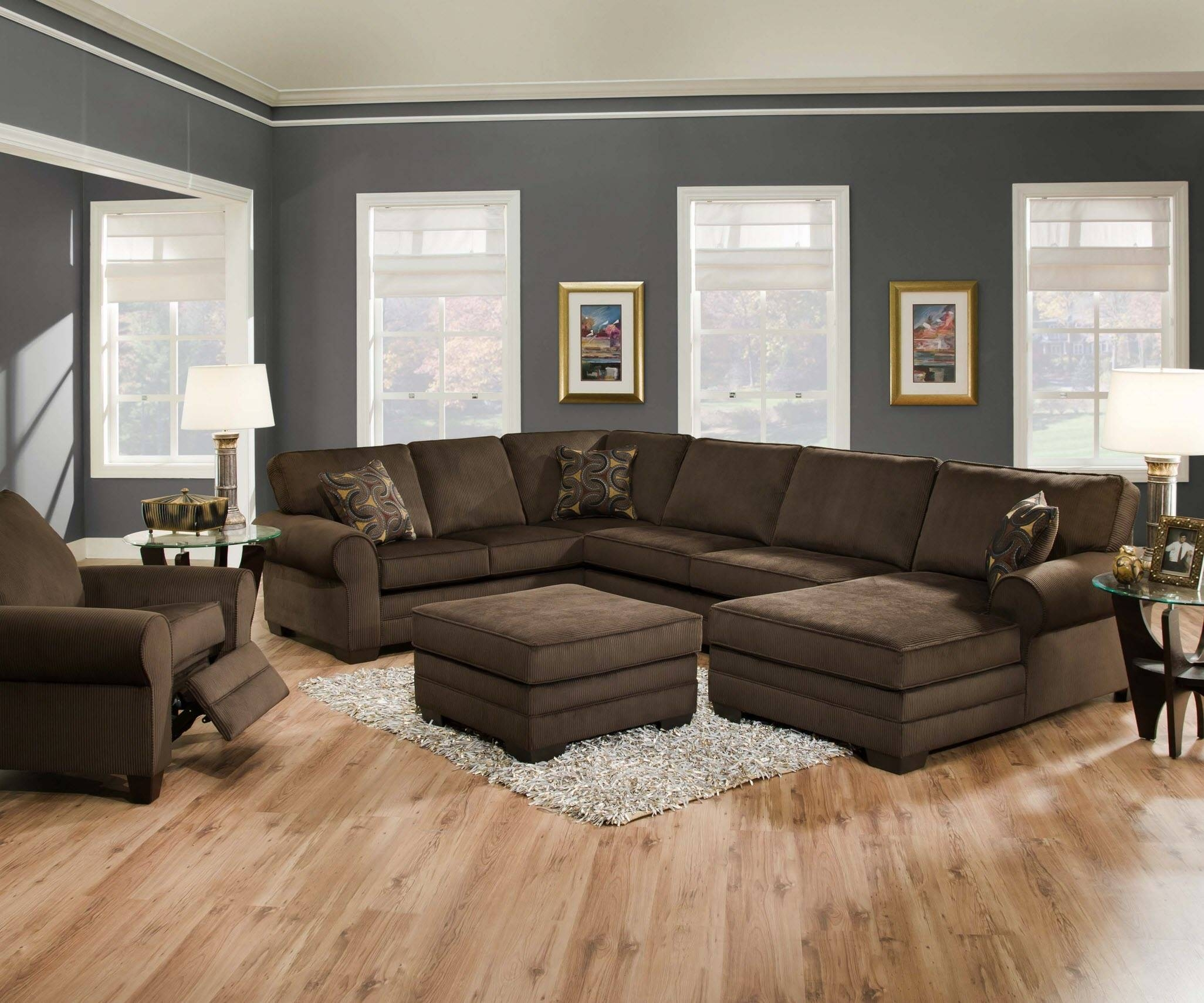 Designssimmons – Simmons Deluxe Beluga Sectional in Simmons Sectional Sofas (Image 3 of 30)