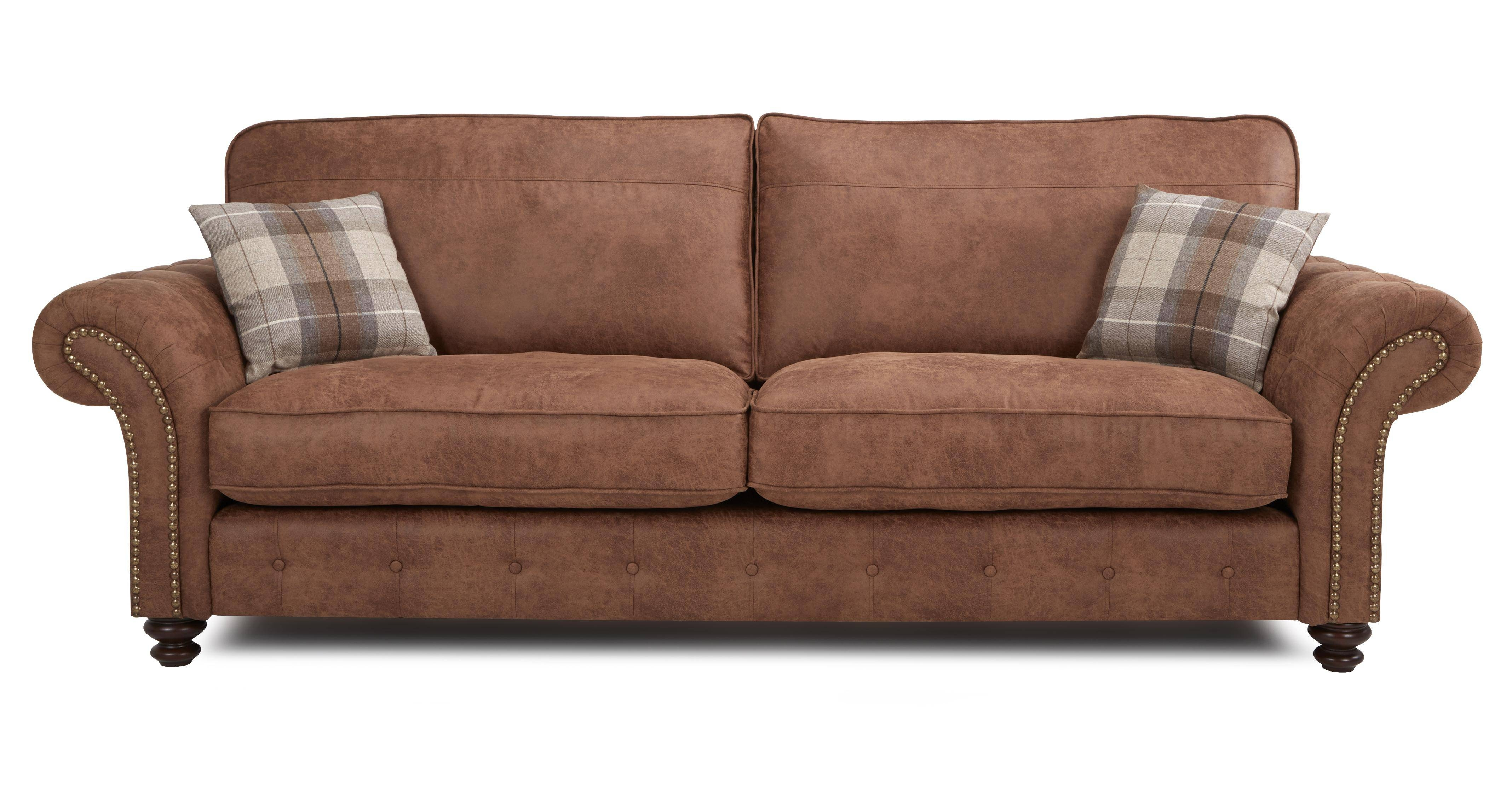Dfs 4 Seater Leather Sofa 63 With Dfs 4 Seater Leather Sofa For 4 Seat Leather Sofas (View 13 of 30)