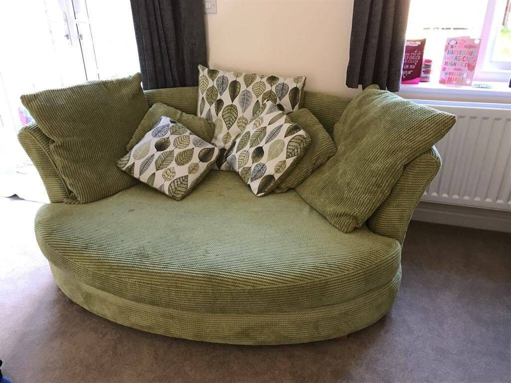Dfs L Shape Sofa & Snuggle Chair | In Winchester, Hampshire | Gumtree for Snuggle Sofas (Image 8 of 30)