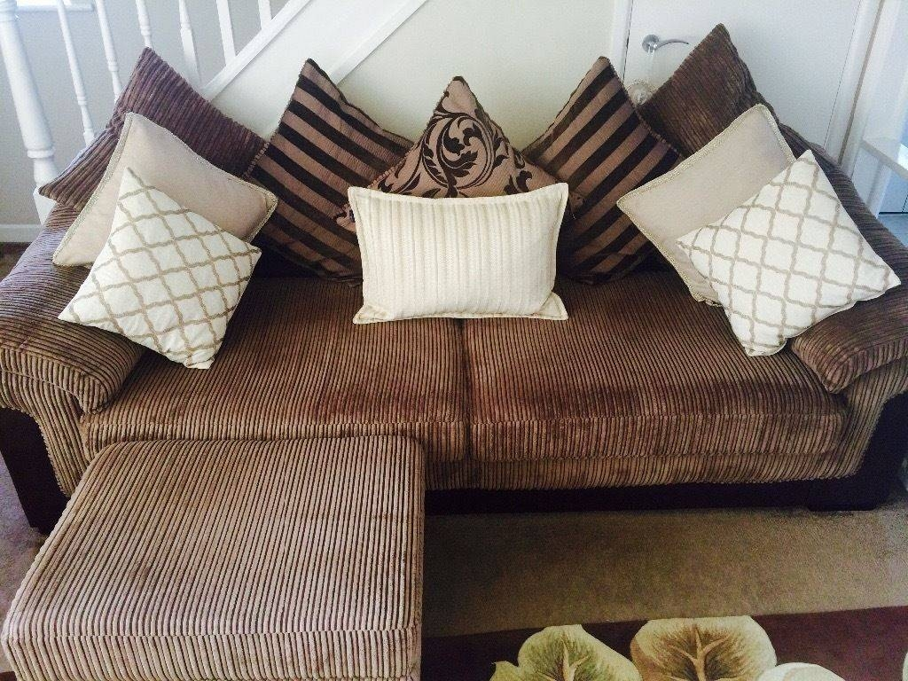 Dfs Large 4 Seater And 3 Seater Sofas | In Benfleet, Essex | Gumtree regarding Large 4 Seater Sofas (Image 6 of 30)