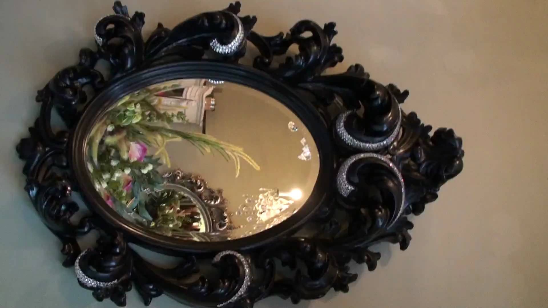 Diamond Encrusted Mirror Most Expensive In The World - Youtube intended for Expensive Mirrors (Image 20 of 25)