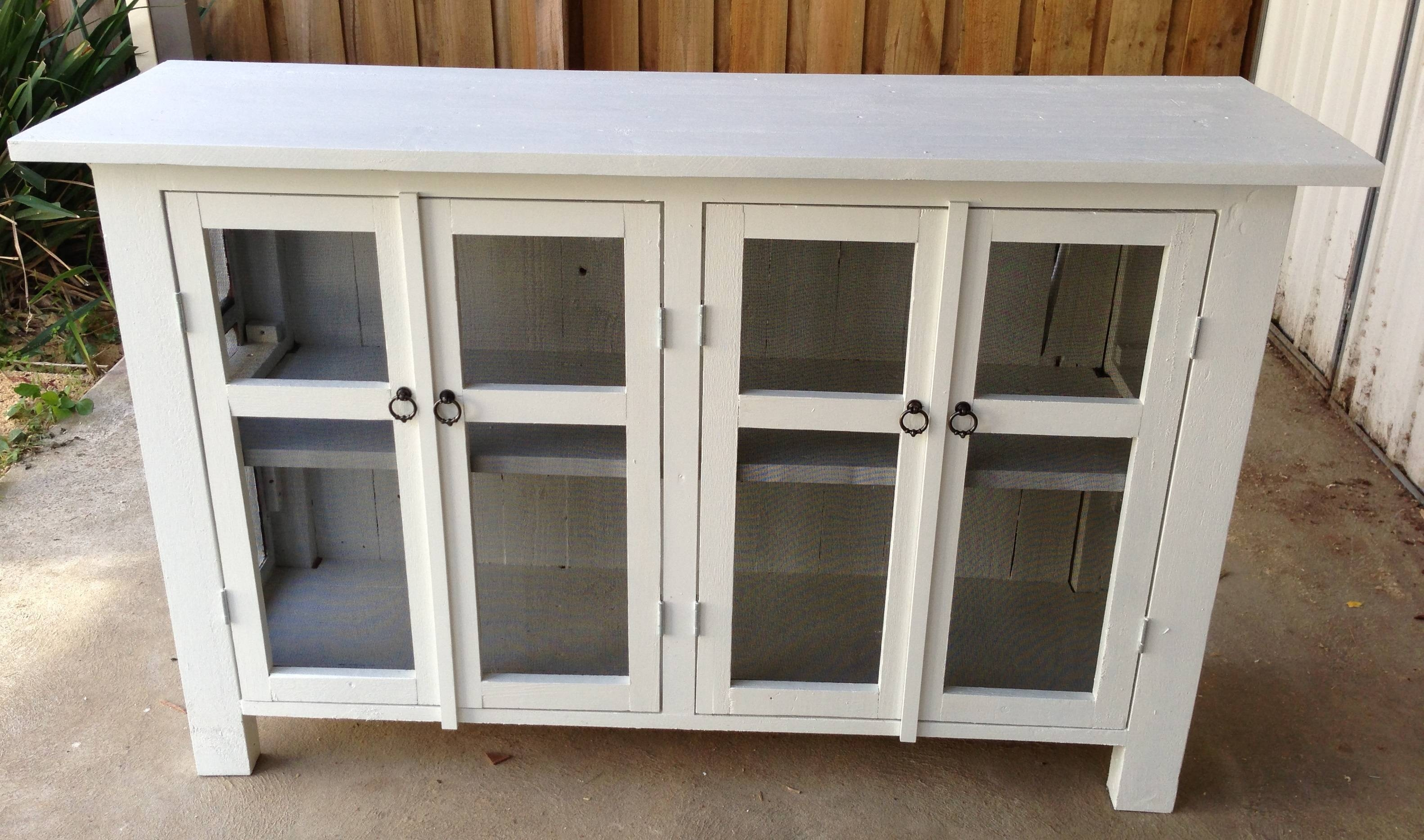 Dining Room: Appealing White Ikea Sideboard With Glass Door And throughout Sideboards With Glass Doors (Image 2 of 30)