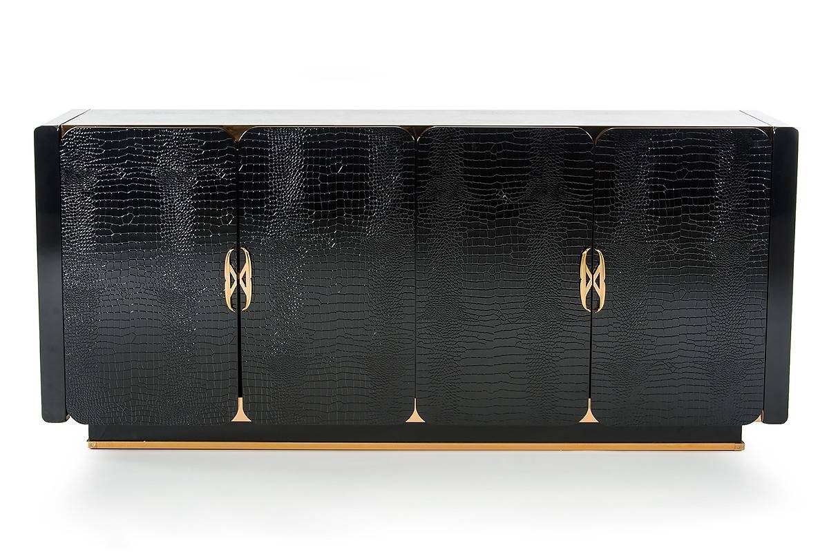 Dining Room Buffets | Modern & Contemporary Buffets Furniture. intended for Black Gloss Buffet Sideboards (Image 8 of 30)