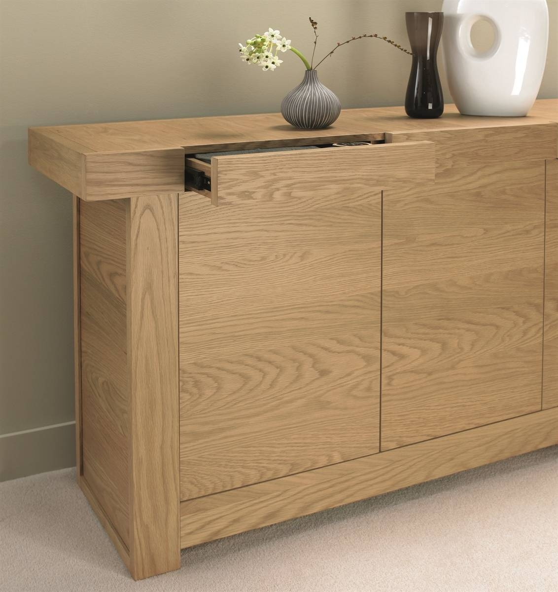 Dining Room Furniture / Furniture Store In Leicester | World Of with Narrow Oak Sideboards (Image 7 of 30)